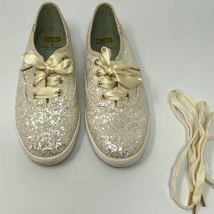 KEDS x KATE SPADE  Champion Glitter Sneakers